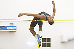 COLLEGE STATION, TX - MARCH 11: A student athlete competes in the men's high jump during the Division I Men's and Women's Indoor Track & Field Championship held at the Gilliam Indoor Track Stadium on the Texas A&M University campus on March 11, 2017 in College Station, Texas. (Photo by Michael Starghill/NCAA Photos/NCAA Photos via Getty Images)