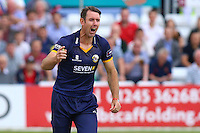 David Masters of Essex with an appeal for a wicket during Essex Eagles vs Glamorgan, NatWest T20 Blast Cricket at the Essex County Ground on 29th July 2016