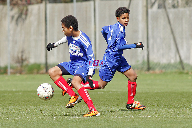PECKHAM TOWN v CAYMAN ISLANDS<br /> INTERNATIONAL U14 FRIENDLY TUESDAY 10TH APRIL 2012 TEN BEE CLUB