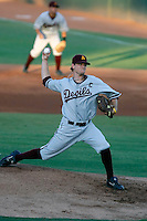Mike Leake of the Arizona State Sun Devils pitching against the Oral Roberts Eagles in the Tempe Regionals at Packard Stadium, Tempe, AZ - 05/30/2009.Photo by:  Bill Mitchell/Four Seam Images