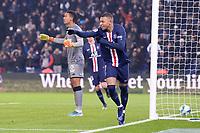 JOIE - 07 KYLIAN MBAPPE (PSG)<br /> 04/12/2019<br /> Paris Saint Germain PSG - Nantes <br /> Calcio Ligue 1 2019/2020 <br /> Foto Philippe LECOEUR Panoramic/insidefoto <br /> ITALY ONLY