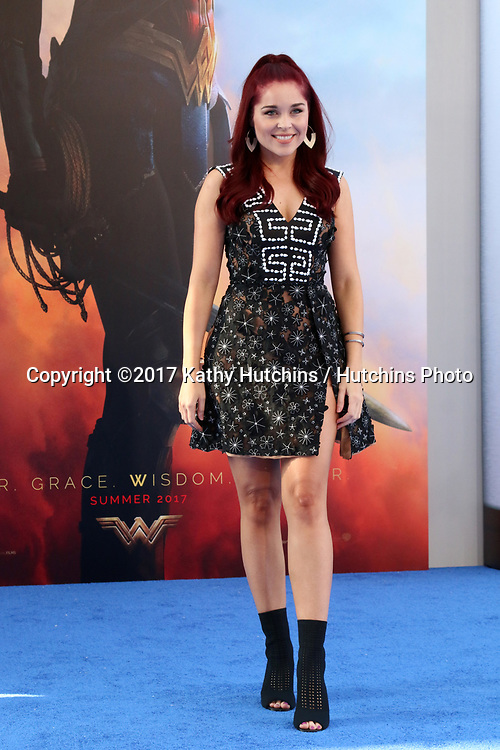 """LOS ANGELES - MAY 25:  Erin Robinson at the """"Wonder Woman"""" Los Angeles Premiere at the Pantages Theater on May 25, 2017 in Los Angeles, CA"""