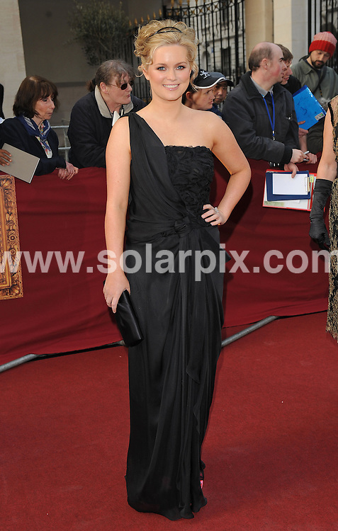 """**ALL ROUND PICTURES FROM SOLARPIX.COM**.**WORLDWIDE SYNDICATION RIGHTS**.Authors and celebrities arrive for the Galaxy British Book Awards or """"Nibbies"""" at the Grosvenor House Hotel in London..This pic:  Cecelia Ahern.JOB REF:  8765    SSD     DATE:  04.04.09.**MUST CREDIT SOLARPIX.COM OR DOUBLE FEE WILL BE CHARGED**.**ONLINE USAGE FEE GBP 50.00 PER PICTURE - NOTIFICATION OF USAGE TO PHOTO @ SOLARPIX.COM**.**CALL SOLARPIX : +34 952 811 768 or LOW RATE FROM UK 0844 617 7637**"""