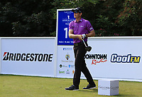 Joachim B Hansen (DEN) on the 11th tee during Round 1 of the Northern Ireland Open at Galgorm Castle Golf Club, Ballymena Co. Antrim. 10/08/2017<br /> Picture: Golffile | Thos Caffrey<br /> <br /> <br /> All photo usage must carry mandatory copyright credit     (&copy; Golffile | Thos Caffrey)