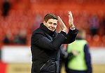 06.02.2019: Aberdeen v Rangers: Steven Gerrard at full time