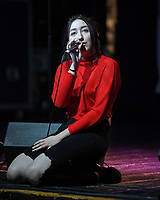 FORT LAUDERDALE , FL - APRIL 18 : Noah Cyrus poses backstage at 97.3 Hits Sessions at Revolution on April 18, 2017 in Fort Lauderdale, Florida. <br /> CAP/MPI04<br /> &copy;MPI04/Capital Pictures