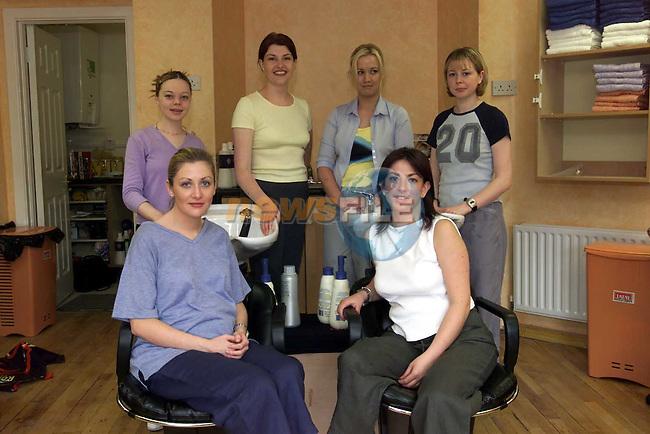 Moda Vida Hair Saloon 3.Picture Fran Caffrey Newsfile