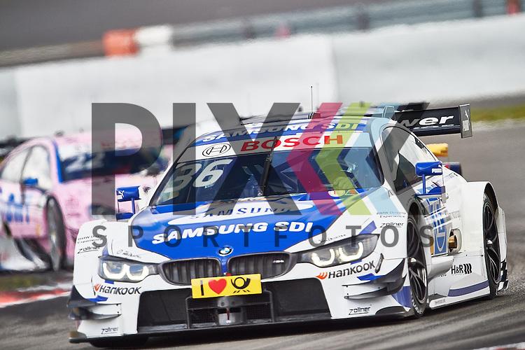 # 36 Maxime Martin auf BMW M4 DTM vom BMW Team RMG  bei der DTM Nuerburgring.<br /> <br /> Foto &copy; PIX-Sportfotos *** Foto ist honorarpflichtig! *** Auf Anfrage in hoeherer Qualitaet/Aufloesung. Belegexemplar erbeten. Veroeffentlichung ausschliesslich fuer journalistisch-publizistische Zwecke. For editorial use only.