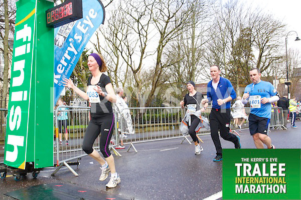 Susan Cantwell 1083, Paul O'Connor 1601,who took part in the Kerry's Eye Tralee International Marathon on Sunday 16th March 2014.