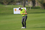 Thorbjorn Olesen (DEN) chips onto the 18th green during Day 1 Thursday of the Open de Andalucia de Golf at Parador Golf Club Malaga 24th March 2011. (Photo Eoin Clarke/Golffile 2011)