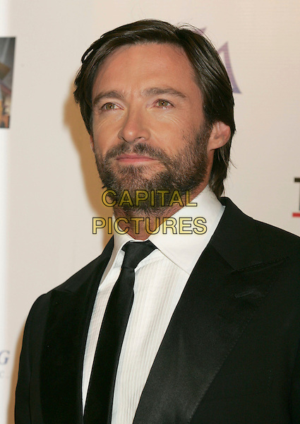 "HUGH JACKMAN.""A Fine Romance"" Star-Studded Evening Celebrating The Love Affair Between Hollywood and Broadway held at Sony Studios, Culver City, California, USA..October 20th, 2007.portrait headshot beard facial hair .CAP/ADM/RE.©Russ Elliot/AdMedia/Capital Pictures."