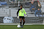 04 December 2009: UCLA's Chante' Sandiford. The Stanford University Cardinal defeated the University of California Los Angeles Bruins 2-1 in sudden victory overtime at the Aggie Soccer Complex in College Station, Texas in an NCAA Division I Women's College Cup Semifinal game.