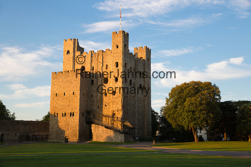 United Kingdom, England, Kent, Rochester: Rochester Castle | Grossbritannien, England, Kent, Rochester: Rochester Castle