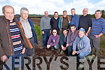 Local turf cutters in Listowel who's rights to the land are been threatened by a proposed EU directive, pictured here last Monday on boglands between Listowel and Moyvane. Left, Dennis Scannell, Mike McElligott, right front, David Morris, Johnny Ryan, Brendan Ryan, Johnny Fitzmaurice, back, Dennis Enright, Tom O'Connor, Michael O'Sullivan, John Lavery, Mick Scannell and Eugene Sullivan.