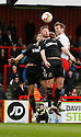 Luke Jones of Stevenage contests a header with Gary Alexander of Crawley<br />  - Stevenage v Crawley Town - Sky Bet League 1 - Lamex Stadium, Stevenage - 26th October, 2013<br />  © Kevin Coleman 2013<br />  <br />  <br />  <br />  <br />  <br />  <br />  <br />  <br />  <br />  <br />  <br />  <br />  <br />  <br />  <br />  <br />  <br />  <br />  <br />  <br />  <br />  <br />  <br />  <br />  <br />  <br />  <br />  <br />  <br />  <br />  <br />  <br />  <br />  <br />  <br />  <br />  <br />  <br />  <br />  <br />  <br />  <br />  <br />  <br />  <br />  <br />  <br />  <br />  <br />  <br />  <br />  - Crewe Alexandra v Stevenage - Sky Bet League One - Alexandra Stadium, Gresty Road, Crewe - 22nd October 2013. <br /> © Kevin Coleman 2013