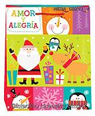Dreams, CHRISTMAS ANIMALS, WEIHNACHTEN TIERE, NAVIDAD ANIMALES, paintings+++++,MEDAGBX41/4,#XA# ,sticker,stickers