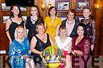 Sheila Looney, Gortroe,  Fossa celebrated her 70th birthday with her family in the Laurels bar and restaurant Killarney on Saturday night front row l-r: Sandra Brosnan, Jacqueline Ryan, Sheila Looney, Patricia Looney. Back row: Alison Looney, Chloe Looney, Sharon Looney, Margaret O'Connor, Siobhain Looney