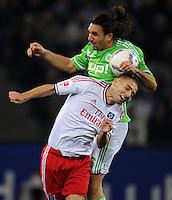 Fussball Bundesliga 2011/12: Hamburger SV - VFL Wolfsburg