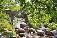 Dartsmeet bridge, Dartmoor, Devon.