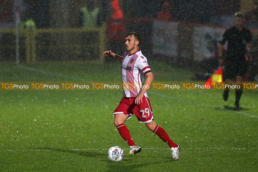 Luke Slater of Stevenage during Stevenage vs Norwich City, Friendly Match Football at the Lamex Stadium on 11th July 2017