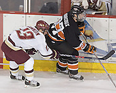 Pat Gannon, Daryl Marcoux - Boston College defeated Princeton University 5-1 on Saturday, December 31, 2005 at Magness Arena in Denver, Colorado to win the Denver Cup.  It was the first meeting between the two teams since the Hockey East conference began play.