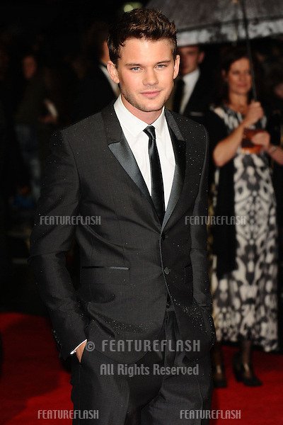 "Jeremy Irvine at the premiere for ""Great Expectations"" being shown as the closing film of the London Film Festival 2012, Odeon Leicester Square, London. 21/10/2012 Picture by: Steve Vas / Featureflash"