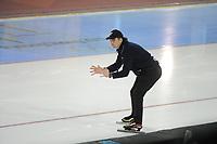 SPEEDSKATING: SALT LAKE CITY: 08-12-2017, Utah Olympic Oval, ISU World Cup, Bob de Jong (trainer/coach KOR), ©photo Martin de Jong