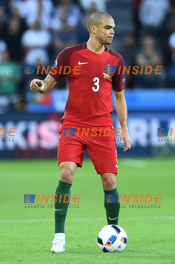Pepe Portugal <br /> Saint-Etienne 14-06-2016 Stadium Geoffroy-Guichard Football Euro2016 Portugal-Iceland / Portogallo-Islanda Group Stage Group F<br /> Foto Massimo Insabato / Insidefoto