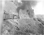#476 with San Juan on Windy Point.  Photo take from rear of train.<br /> D&amp;RGW  near Cumbres, CO  Taken by Vollrath, Harold K. - 6/1942