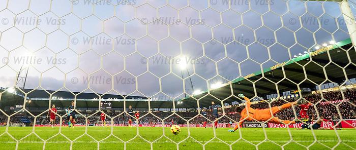 08.08.2019 FC Midtjylland v Rangers: Joe Aribo scores goal no 2