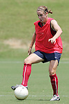 28 July 2006: Heather O'Reilly. The United States Women's National Team trained at SAS Soccer Park in Cary, North Carolina, in preparation for an International Friendly match against Canada to be played on Sunday, July 30.
