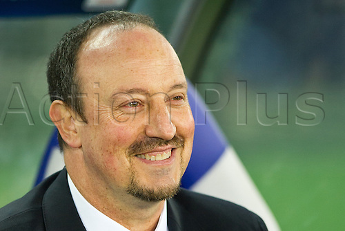 13.12.2012. Yokohama, Japan.  Rafael Benitez (Chelsea),  FIFA Club World Cup Japan 2012, match between CF Monterrey 1-3 Chelsea FC at International Stadium in Yokohama, Japan.