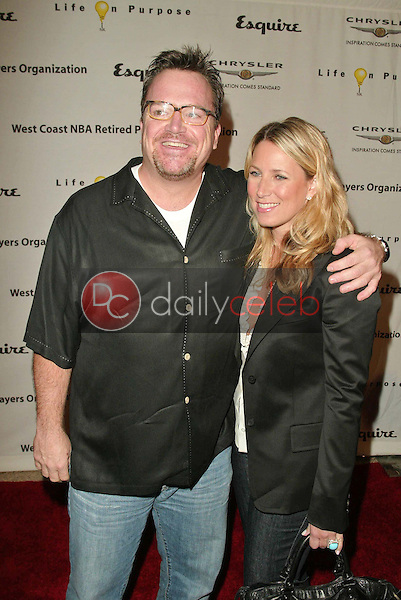 Tom Arnold and wife Shelby Roos