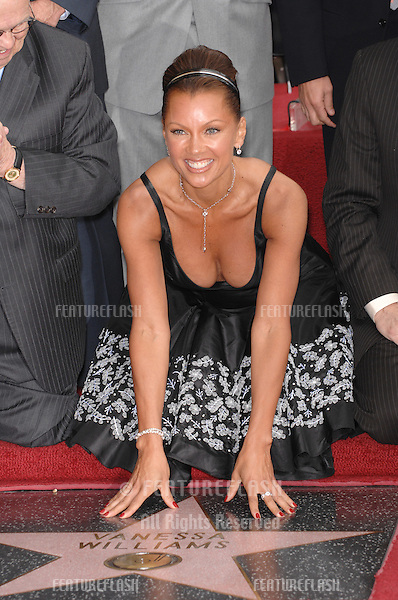 Vanessa Williams on Hollywood Boulevard where she was honored with the 2,331st star on the Hollywood Walk of Fame. .March 19, 2007  Los Angeles, CA.Picture: Paul Smith / Featureflash