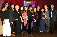 LOS ANGELES - OCT 6: DIanne Fraser, David Gallagan, performers at the Right This Way, Your Table's Waiting cabaret performance - to benefit The Actors Fund held at  The Catalina Jazz Club on October 8, 2017 in Los Angeles, CA