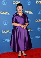 LOS ANGELES, USA. January 25, 2020:  Lee Jeong-eun at the 72nd Annual Directors Guild Awards at the Ritz-Carlton Hotel.<br /> Picture: Paul Smith/Featureflash