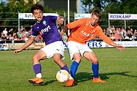 NIEUW BUINEN - Voetbal , Nieuw Buinen - FC Groningen, voorbereiding seizoen 2018-2019, 04-07-2018,  FC Groningen speler Ritsu Doan