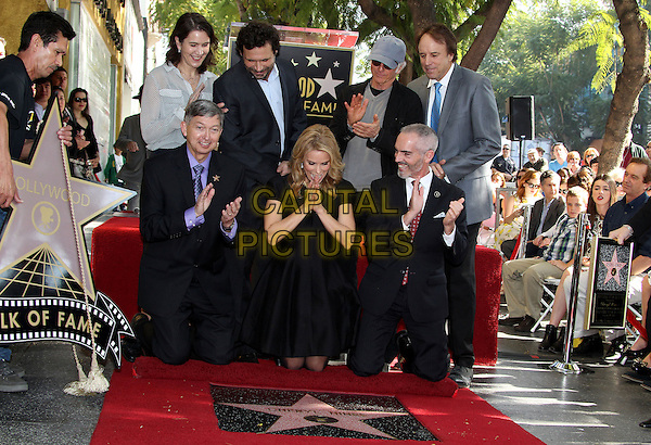 HOLLYWOOD, CA - January 29: Chris Parnell, Jeremy Sisto, Cheryl Hines, Larry David, Kevin Nealon  at the Cheryl Hines Star on the Hollywood Walk of Fame, Hollywood,  January 29, 2014<br /> CAP/ADM/FS<br /> &copy;Faye Sadou/AdMedia/Capital Pictures