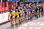 Action from Stage 2 of the Madrid Challenge by La Vuelta 2018, running 98.6km around the streets of Madrid, Spain. 16th September 2018.                   <br /> Picture: Unipublic/Vicent Bosch | Cyclefile<br /> <br /> <br /> All photos usage must carry mandatory copyright credit (&copy; Cyclefile | Unipublic/Vicent Bosch)
