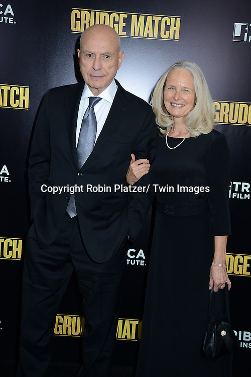 "Alan Arkin attends the World Premiere of ""Grudge Match"" at the Ziegfeld Theatre in New Yok City on December 16, 2013."