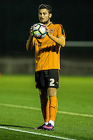 Friday  16 December 2014<br /> Pictured:  Matthew Blake of Swansea City <br /> Re: Swansea City U18s v Wolverhampton Wonderers U18s, 3rd Round FA youth Cup Match at the Landore Training Facility, Swansea, Wales, UK