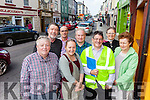 Listowel businesses say that they will remain open during the Listowel roadworks which are due to start at the end of September and run until late November. Pictured were: Gerry Behan, Damian Stack, John McGuire, Lizzie Lyons, James Feely (Kerry County Council Engineer), Oonagh Harnett and Mary McGillicuddy.