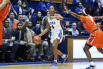 10 February 2017: Duke's Lexie Brown. The Duke University Blue Devils hosted the Syracuse University Orange at Cameron Indoor Stadium in Durham, North Carolina in a 2016-17 Division I Women's Basketball game. Duke won the game 72-55.