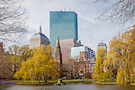 April in the Boston Public Garden, Boston, Massachusetts, USA