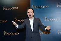 Roberto Benigni as Mister Geppetto<br /> Rome December 12th 2019. Pinocchio Photocall in Rome<br /> Foto Samantha Zucchi Insidefoto