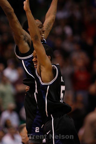 Trent Nelson  |  The Salt Lake Tribune.Salt Lake City - Butler vs. Kansas State, NCAA West Regional (Final Eight), Saturday, March 27, 2010. Butler guard Ronald Nored (5)