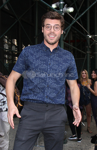 NEW YORK, NY July 17, 2017   Francois Arnaud at AOL BUILD to talk about new NBC series MidNight Texas in New York July 17, 2017. Credit:RW/MediaPunch
