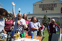 Mississippi State's Staff Council hosts Staff Appreciation Day Luncheon in the Junction on May 13, 2016.<br />  (photo by Sarah Dutton / &copy; Mississippi State University)