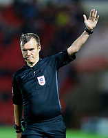 Referee Antony Coggins<br /> <br /> Photographer Alex Dodd/CameraSport<br /> <br /> The EFL Sky Bet League One - Doncaster Rovers v Blackpool - Tuesday September 17th 2019 - Keepmoat Stadium - Doncaster<br /> <br /> World Copyright © 2019 CameraSport. All rights reserved. 43 Linden Ave. Countesthorpe. Leicester. England. LE8 5PG - Tel: +44 (0) 116 277 4147 - admin@camerasport.com - www.camerasport.com