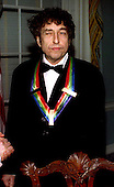 Bob Dylan appears at the United States Department of State during a photo op for the 1997 Kennedy Center honorees in Washington, D.C. on December 6, 1997..Credit: Jim Kelly / Pool via CNP